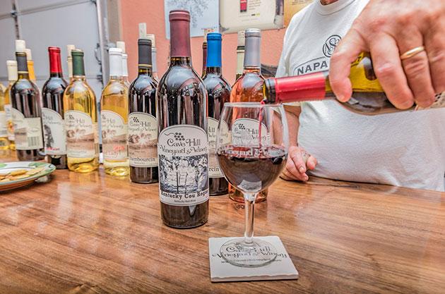 Wineries Lake Cumberland Somerset Pulaski County KY