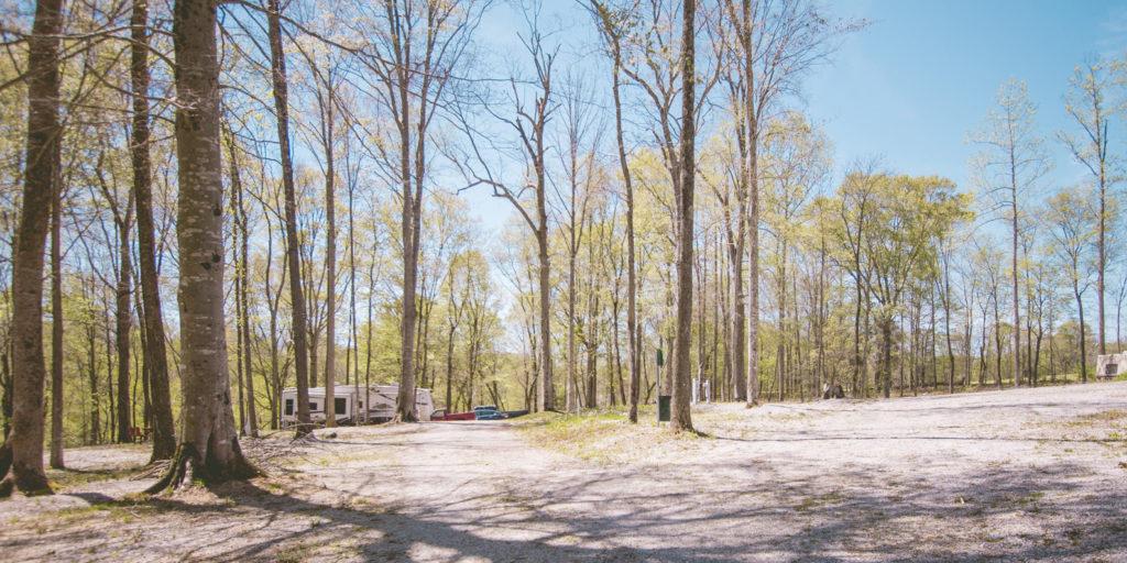 Happy Camper RV Park scene