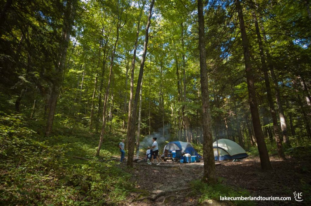 Primitive Camping at Bee Rock Campground