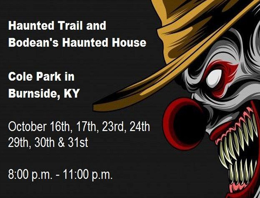 The Haunted Trail of Cole Park and Bodean's Haunted House