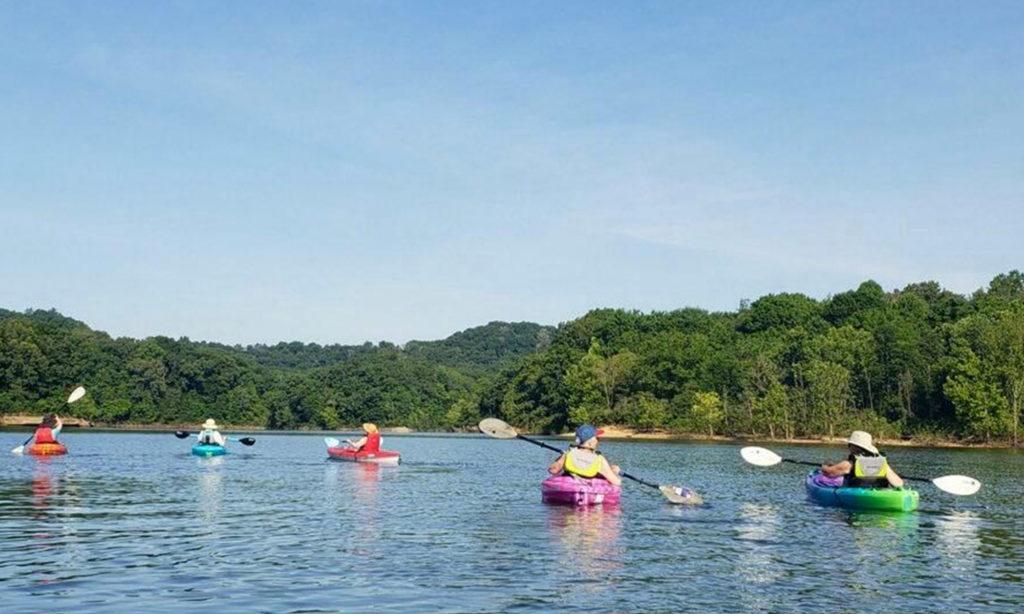 Buck Creek kayaking